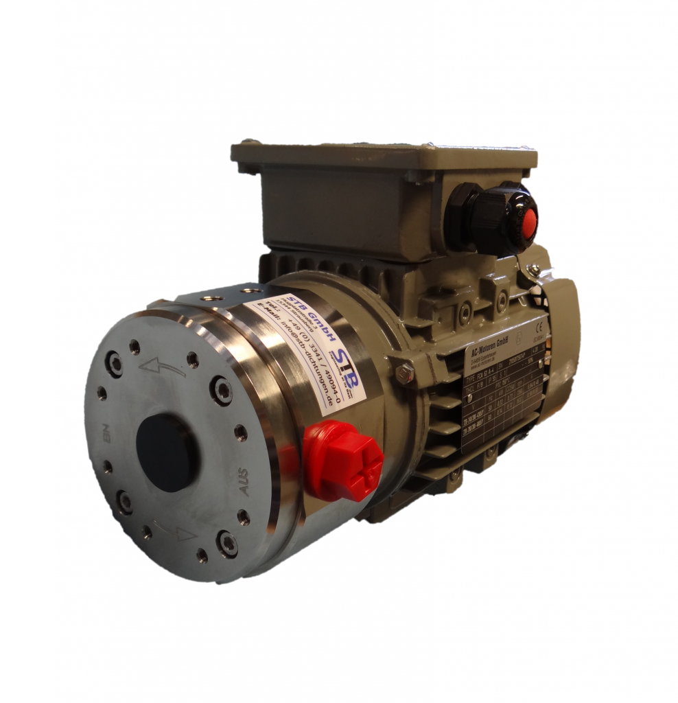 magnetically coupled circulation pump